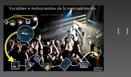 Copy of Variables o instrumentos de la mercadotecnia