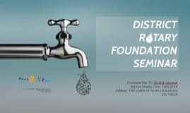 District TRF Seminar Singapore