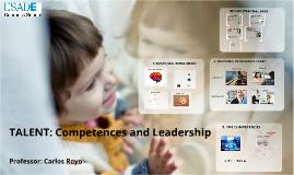 Copia de TALENT: COMPETENCES AND LEADERSHIP