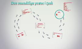 Copy of Mundtlig prøve i tysk