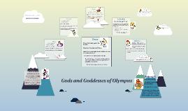 Major Gods & Goddesses Middle School