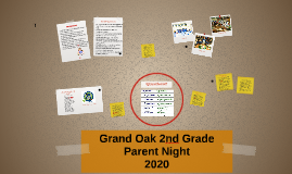 Grand Oak 2nd Grade Night