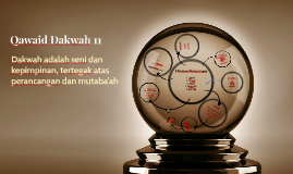 Qawaid Dakwah 11