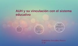 AUH y su vinculación con el sistema educativo