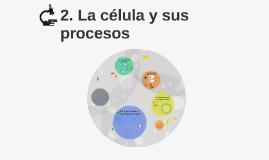 2. La célula y sus procesos