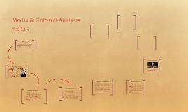 Media & Cultural Analysis