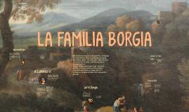 La familia Borgia