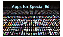 Apps for Special Ed