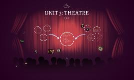 UNIT 3: THEATRE