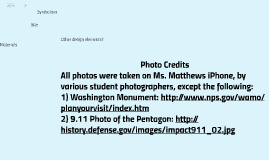 Some Monuments and Memorials of Washington, DC