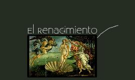 Copy of El Renacimiento
