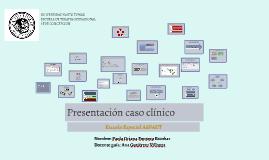Presentación caso clínico