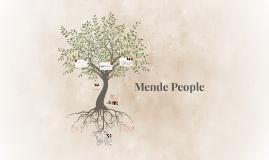 Mende People