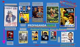 PROPAGANDA ALERT! Images of War Past and Present