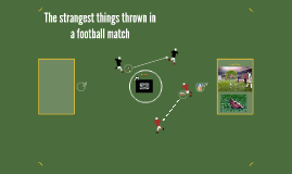 The strangest things thrown in a football match