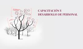 CAPACITACIÓN Y DESARROLLO DE PERSONAL