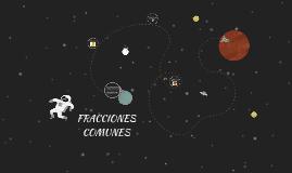 fracciones comunes