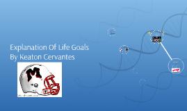 Explanation Of Life Goals