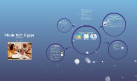 Music ISP: Egypt