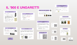 Copy of IL '900 E UNGARETTI