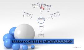 TAREAS EQUIPOS DE AUTOEVALUACIÓN