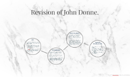 Revision of John Donne.