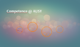 Competence @ AUSY
