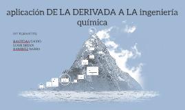 Copy of Copy of Copy of APLICACION DE LA DERIVADA A LA INGENIERIA QUIMICA