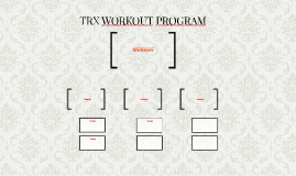 TRX WORKOUT PROGRAMM