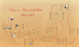 Chp. 11 - The Civil War