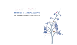 Wang_Research Disclosure and Biosecurity