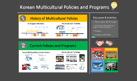 Multicultural policies and programs