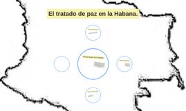 El tratado de paz en la Habana.