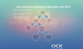 Becoming an Assessment Specialist with OCR