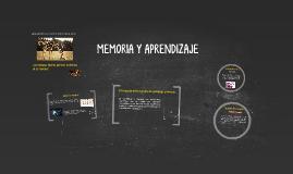 Copy of RELACIÓN ENTRE MEMORIA Y APRENDIZAJE