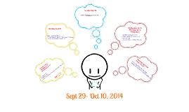 Sept 29- Oct 10, 2014