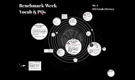 Benchmark Week