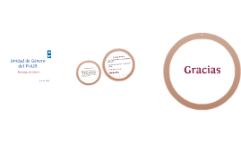 Unidad de Género PNUD 2015