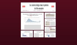 Les salaires belges dans le peloton de tête européen