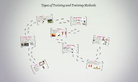 Types of Training and Training Methods