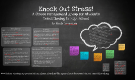 Knock Out Stress