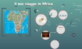 Il mio viaggio in Africa