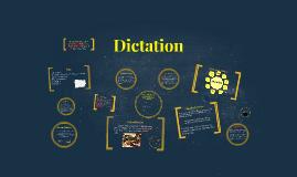 Dictation in FLTL