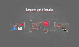 Borgerkrigen i Somalia