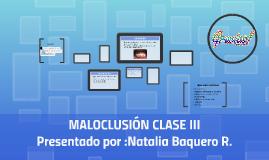 MALOCLUSIÓN CLASE III