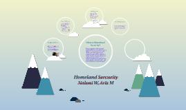 Homeland Sercurity