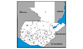 Departamentos de Guatemala, con descripciones conocidas.