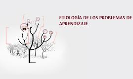 Copy of ETIOLOGÍA DE LOS PROBLEMAS DE APRENDIZAJE