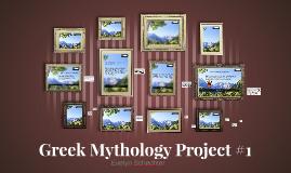 Greek Mythology Project #1
