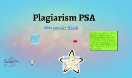 Plagiarism PSA